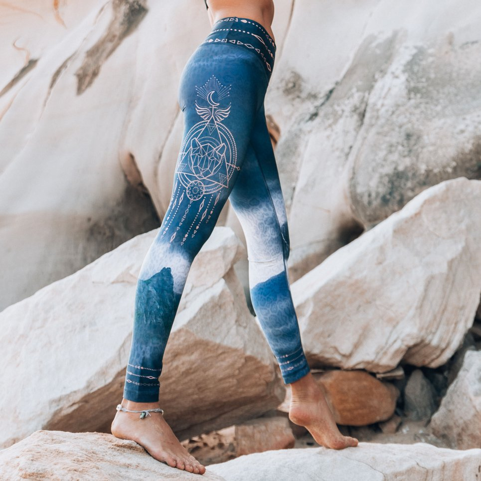 eco friendly pachamama leggings
