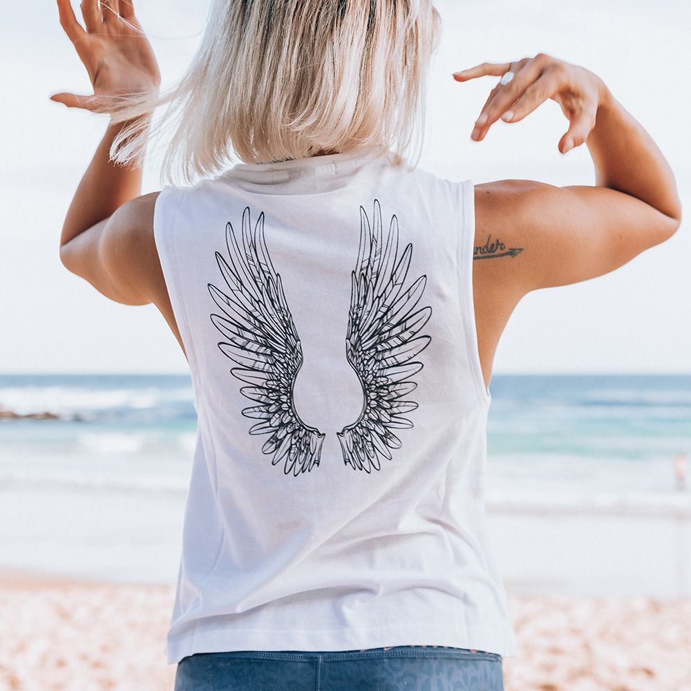 **NEW IN** Angel Wings Flow Tank