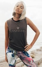 Earth Girl - Organic Cotton Bamboo Yoga Top