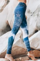BACK IN STOCK! Eco - Leggings - Pachamama Print