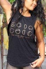 Moon Child - Organic Cotton Bamboo Yoga Top