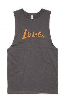 *NEW* LOVE Tank- Organic Cotton Bamboo Unisex Tank