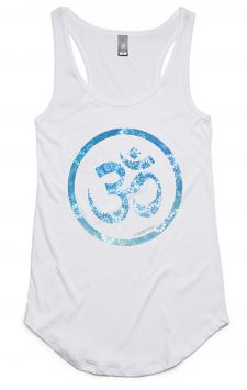 *NEW* Om Tank - Organic Cotton Bamboo Yoga Top