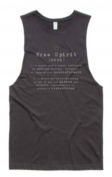 *NEW* Free Spirit Tank - Organic Cotton Bamboo