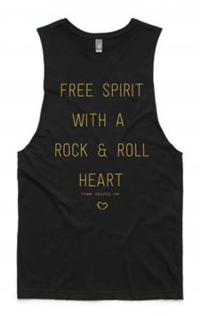 *NEW* Rock & Roll - Organic Cotton Bamboo Yoga Top
