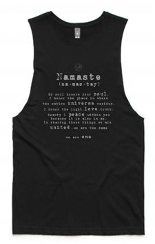 *NEW* Namaste - Organic Cotton Bamboo Yoga Top