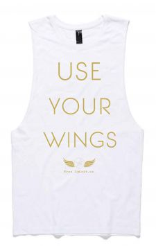 Wings - Organic Cotton Bamboo Yoga Tank