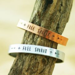 Free Spirit Bracelet - Silver or Rose Gold