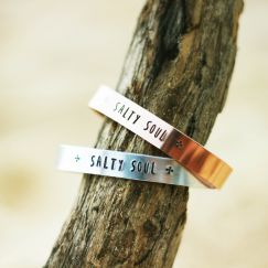 Salty Soul Bracelet - Silver or Rose Gold