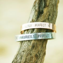 Imperfectly Perfect - Silver or Rose Gold
