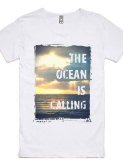 Ocean Calling Tee - 100% Cotton Men's T-Shirt