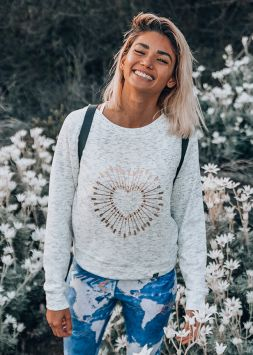 **NEW** Shot to the Heart Sweater - White