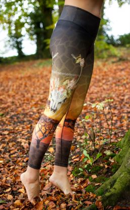 *NEW* Eco - Leggings - Savannah Print
