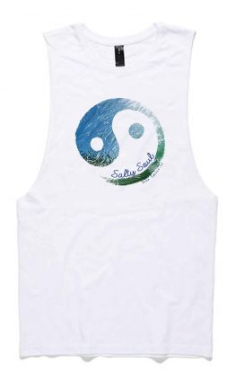 Salty Soul - Organic Cotton Bamboo Yoga Tank