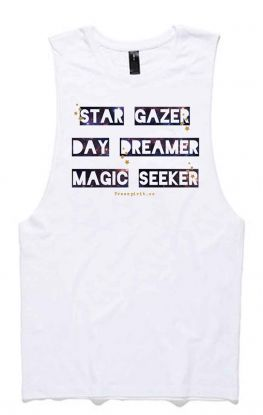 *NEW* Star Gazer - Organic Cotton Bamboo Yoga Top