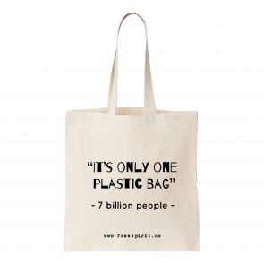 'Only One Plastic Bag