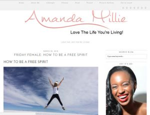 Amanda Millie BLOG Post - How to be a Free Spirit!