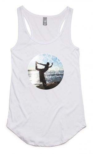 Dancers - Organic Cotton Bamboo Yoga Tank: L