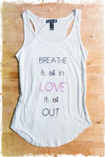 Breathe Yoga Tank - Premium Cotton Modal Yoga Tank: XS