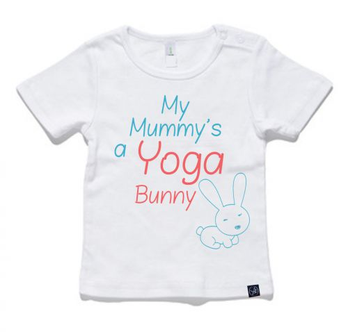 Yoga Bunny Tee - NOW $29.12 WITH 20% OFF!: 0-3 Months