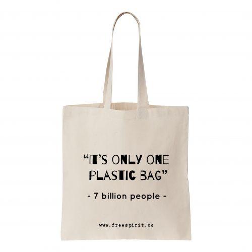 Plastic Free Tote Bag