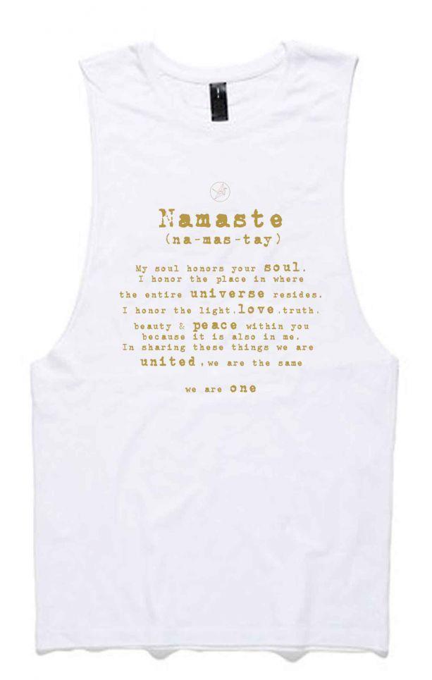 2c853a9de0da0 Namaste - Organic Cotton Bamboo Yoga Tank