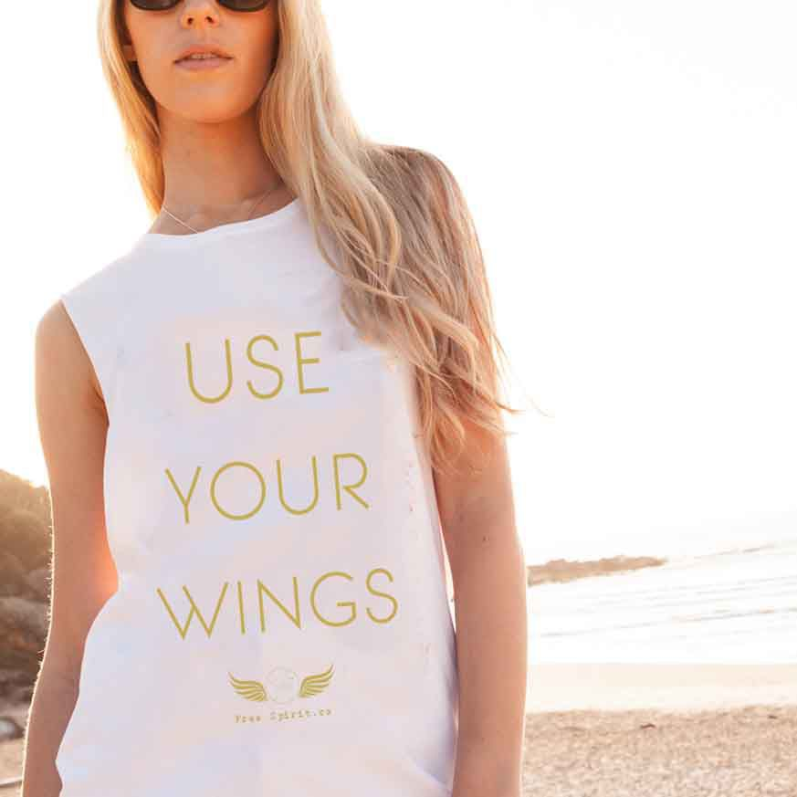 Getting your white wings 8